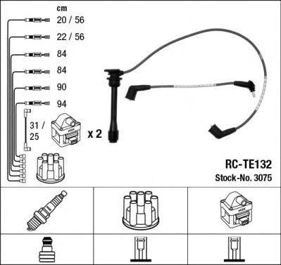 Комплект проводов зажигания NGK 3075