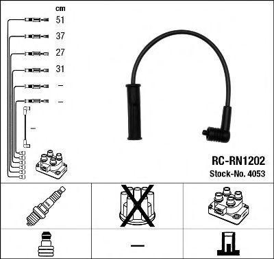 Провода высоковольтные комплект NGK 4053