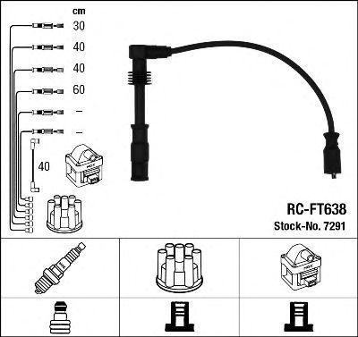 Комплект проводов зажигания NGK 7291
