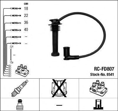 Провода высоковольтные комплект NGK 8541