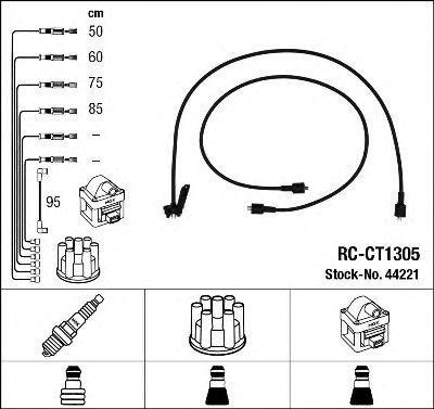 Комплект проводов зажигания NGK 44221