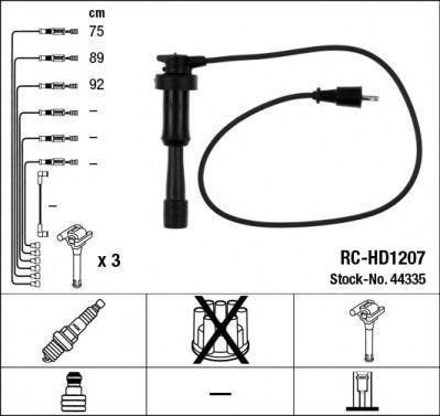 Комплект проводов зажигания NGK 44335