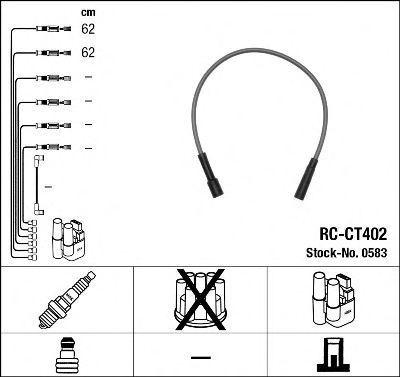 Комплект проводов зажигания NGK 0583