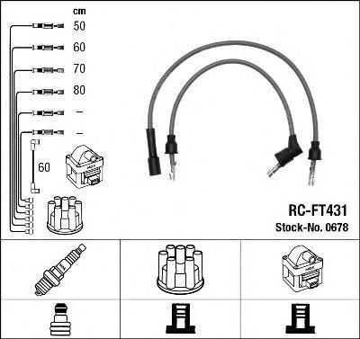 Комплект проводов зажигания NGK 0678