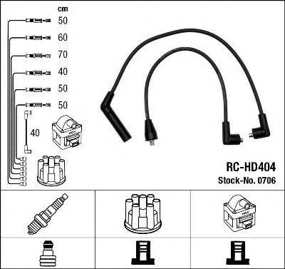 Комплект проводов зажигания NGK 0706