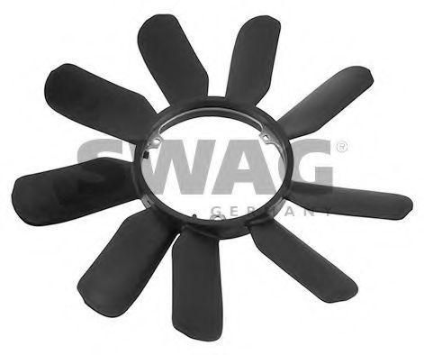 Крыльчатка вентилятора охлаждения двигателя SWAG 10 21 0002