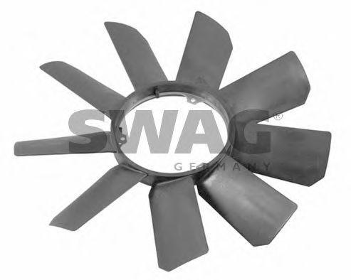 Крыльчатка вентилятора SWAG 10922784