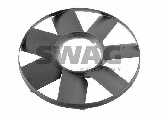Крыльчатка вентилятора, охлаждение двигателя SWAG 20924037