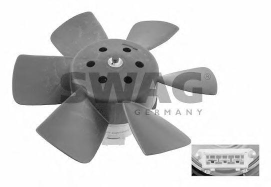Вентилятор охлаждения двигателя SWAG 30906989