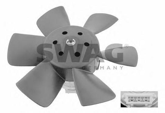 Вентилятор охлаждения двигателя SWAG 30906990