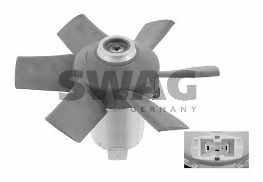 Вентилятор радиатора SWAG 30906997