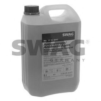 Антифриз G12+ фиолетовый -36°C 5л SWAG 30919402