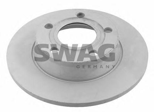 Диск тормозной задний вентилируемый SWAG 30922906