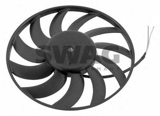 Вентилятор охлаждения двигателя SWAG 30 93 0742