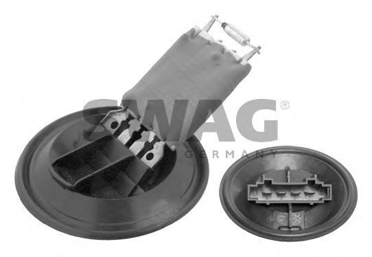 Ряд сопротивления мотора вентилятора SWAG 30 93 4370
