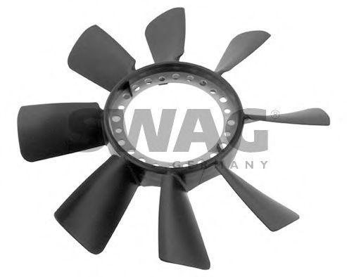 Вентилятор радиатора SWAG 30 93 4466