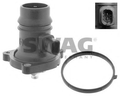 Термостат, охлаждающая жидкость SWAG 40946578
