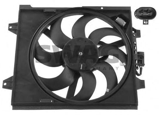 Вентилятор радиатора SWAG 70937167