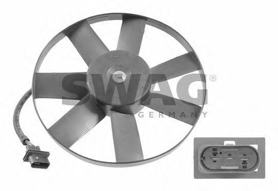 Вентилятор радиатора охлаждения SWAG 99914748