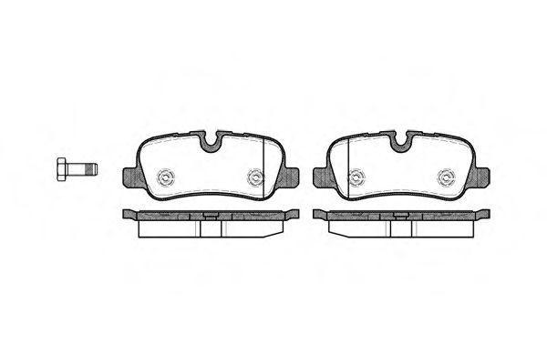 Купить Колодки тормозные задние REMSA 115900