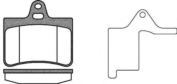Купить Колодки тормозные задние REMSA 083020