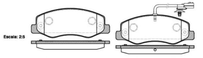 Купить Колодки тормозные задние REMSA 144201
