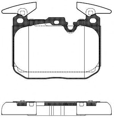 Колодки тормозные передние REMSA 149100
