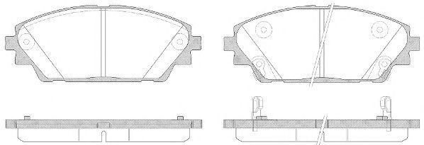 Колодки тормозные REMSA 156902  - купить со скидкой