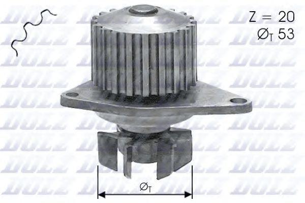 Насос водяной DOLZ C110