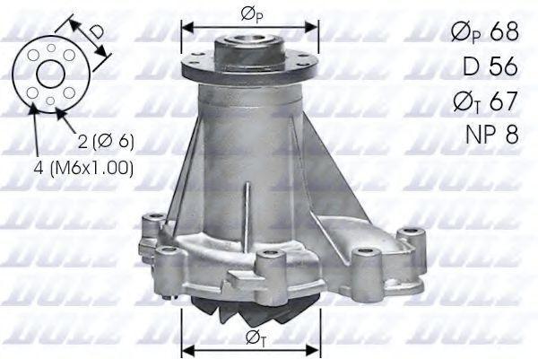 Насос водяной DOLZ M176