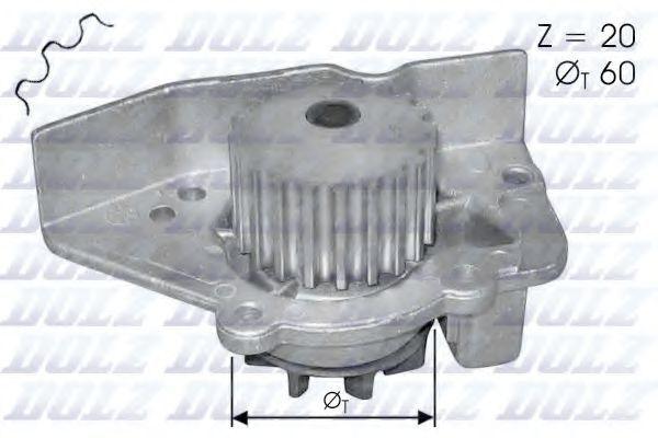 Насос водяной DOLZ N405