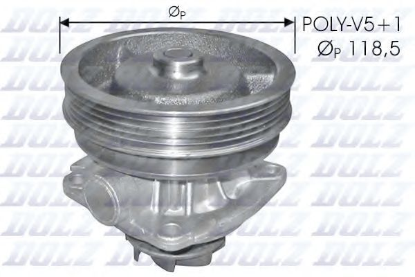 Насос водяной DOLZ S217