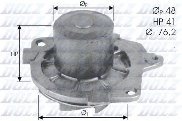 Насос водяной DOLZ S314