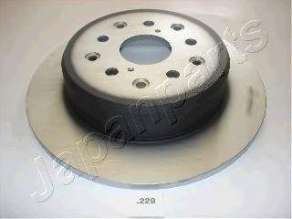 Диск тормозной JAPANPARTS DP-229