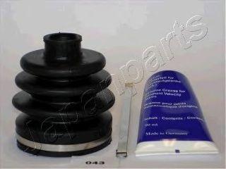 Комплект пылника, приводной вал JAPANPARTS KB043