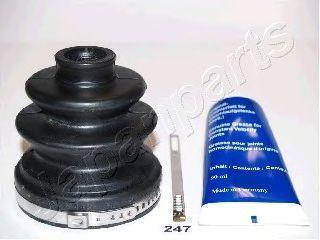 Комплект пылника, приводной вал JAPANPARTS KB247