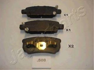 Колодки тормозные дисковые JAPANPARTS PP-508AF