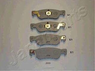 Колодки тормозные JAPANPARTS PP900AF