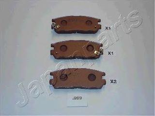 Колодки тормозные дисковые JAPANPARTS PP-999AF