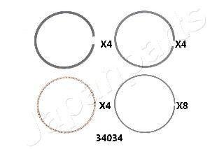 Поршневое кольцо JAPANPARTS RC34034