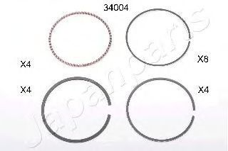 Поршневое кольцо JAPANPARTS RS34004