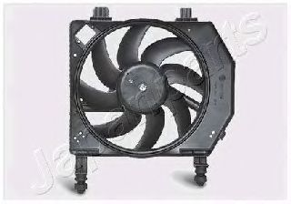 Вентилятор, охлаждение двигателя JAPANPARTS VNT051651
