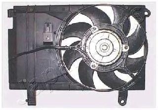 Вентилятор, охлаждение двигателя JAPANPARTS VNT310460