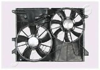 Вентилятор, охлаждение двигателя JAPANPARTS VNT312010