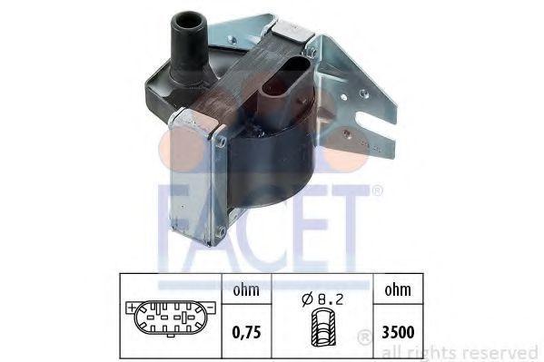 Катушка зажигания FACET 96008