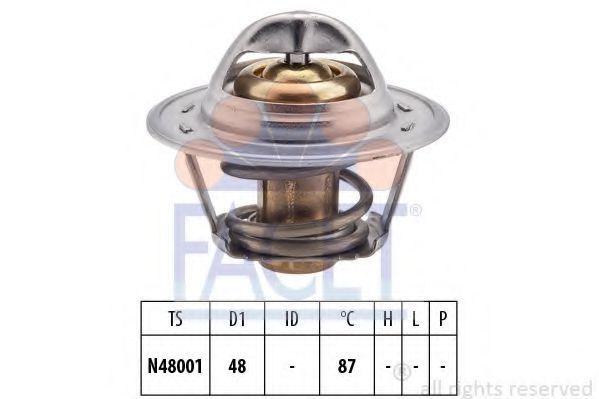 Термостат, охлаждающая жидкость FACET 78374S