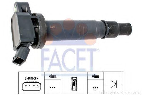 Катушка зажигания FACET 96358