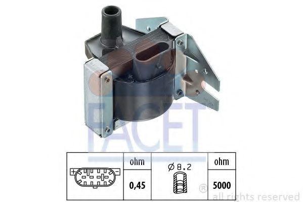 Катушка зажигания FACET 96048