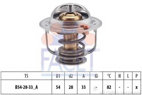 Термостат, охлаждающая жидкость FACET 78371S