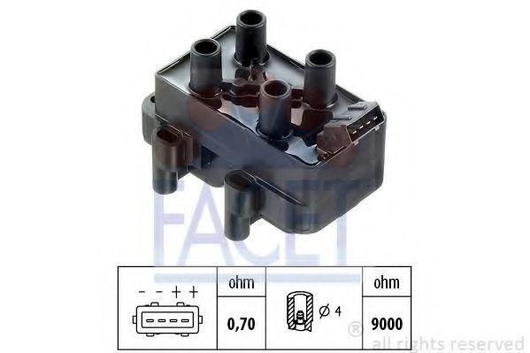 Катушка зажигания FACET 96089